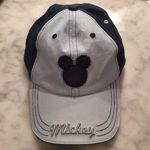 Mickey ball cap with little girl bling
